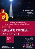 """Musical """"Suleilas erste Weihnacht """", ein außergewöhnliches Weihnachtskonzert"""